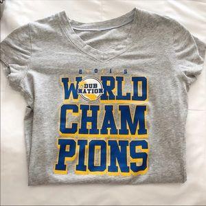 Tops - Golden state warriors champion t-shirt 💛